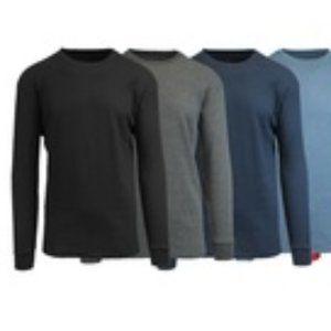😀Galaxy men's long sleeve thermal black Med